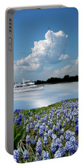 Portable Battery Charger featuring the photograph 4464 by Peter Holme III