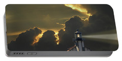 Portable Battery Charger featuring the photograph 4465 by Peter Holme III