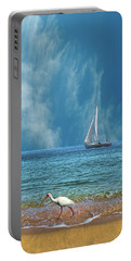 Portable Battery Charger featuring the photograph 4485 by Peter Holme III