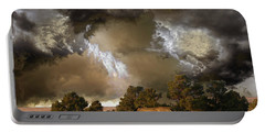Portable Battery Charger featuring the photograph 4486 by Peter Holme III