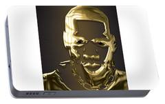 Jay Z Collection Portable Battery Charger by Marvin Blaine