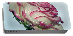 Beautiful Rose Portable Battery Charger by Elvira Ladocki