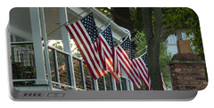 4th Of July Porch Portable Battery Charger