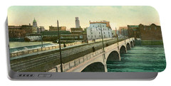 4th Street Bridge Waterloo Iowa Portable Battery Charger