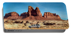 4x4 At Lake Powell Portable Battery Charger
