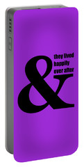 And They Lived Happily Ever After Portable Battery Charger