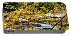 Autumn Middle Fork River Portable Battery Charger by Thomas R Fletcher