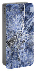 Belfast Northern Ireland City Map Portable Battery Charger