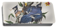 Blue Jay Portable Battery Charger by John James Audubon
