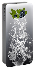 Blueberry Splash Portable Battery Charger