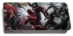 Captain America Civil War 2016 Portable Battery Charger