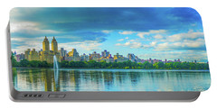 Portable Battery Charger featuring the photograph Central Park by Theodore Jones