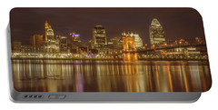 Cincinnati, Ohio Portable Battery Charger by Scott Meyer