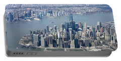 Downtown Manhattan Portable Battery Charger by Suhas Tavkar