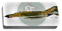 F-4e Phantom II Portable Battery Charger by Arthur Eggers