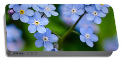 Forget Me Not Portable Battery Charger by Jouko Lehto