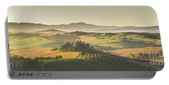Golden Tuscany Portable Battery Charger by JR Photography
