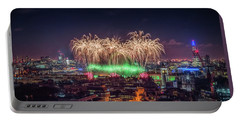 Happy New Year London Portable Battery Charger
