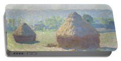 Haystacks, End Of Summer Portable Battery Charger