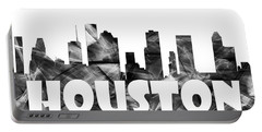 Houston Texas Skyline Portable Battery Charger