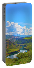 Idaho Landscape Portable Battery Charger