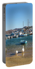 Mykonos / Greece Portable Battery Charger