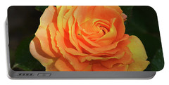 Portable Battery Charger featuring the photograph Orange Rose by Elvira Ladocki