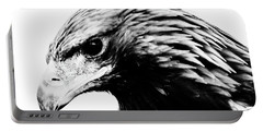 Portrait Of Bird Of Prey  Portable Battery Charger