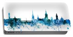 Stockholm Sweden Skyline Portable Battery Charger