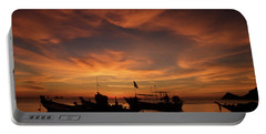 Sunrise On Koh Tao Island In Thailand Portable Battery Charger by Tamara Sushko