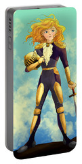 Tammy Wurtherington Freedom Fighter Portable Battery Charger by Reynold Jay