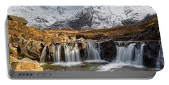 The Fairy Pools, Isle Of Skye Portable Battery Charger