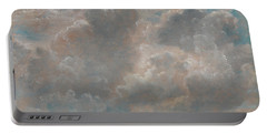 Title Cloud Study Portable Battery Charger