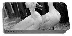 Powderpuff Ducks Portable Battery Charger