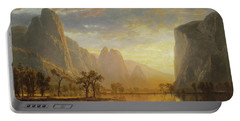 Valley Of The Yosemite Portable Battery Charger