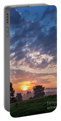 West Virginia Sunrise Portable Battery Charger by Thomas R Fletcher
