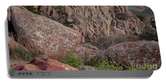 Portable Battery Charger featuring the photograph Wichita Mountains by Iris Greenwell