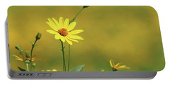 Wild Sunflower Stony Brook New York  Portable Battery Charger