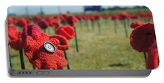 5000 Poppies Portable Battery Charger by Therese Alcorn