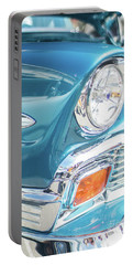 50s Chevy Chrome Portable Battery Charger by Mike Reid