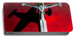 54 Gmc 100 Hood Ornament Portable Battery Charger