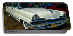 '56 Lincoln Portable Battery Charger by Victor Montgomery