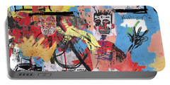 Basquiat Portable Battery Chargers