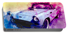57 Thunderbird Watercolour Portable Battery Charger