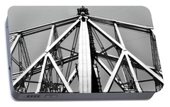 59th Street Bridge No. 88-1 Portable Battery Charger by Sandy Taylor