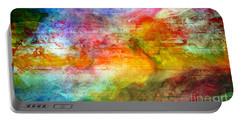 5a Abstract Expressionism Digital Painting Portable Battery Charger