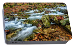 Portable Battery Charger featuring the photograph Aldrich Branch Monongahela National Forest by Thomas R Fletcher