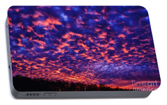 Portable Battery Charger featuring the photograph Appalachian Sunset Afterglow by Thomas R Fletcher