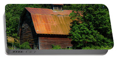 Barns In Pacific Northwest Portable Battery Charger