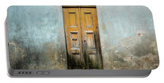 Portable Battery Charger featuring the photograph Door With No Number by Marco Oliveira